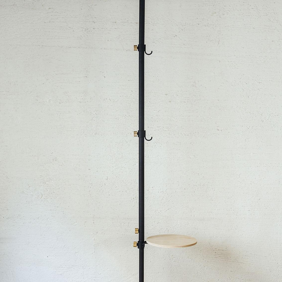 長フック|1本の線(ライン)に、鍵もバッグも指定席ができる「つっぱり棒」|DRAW A LINE