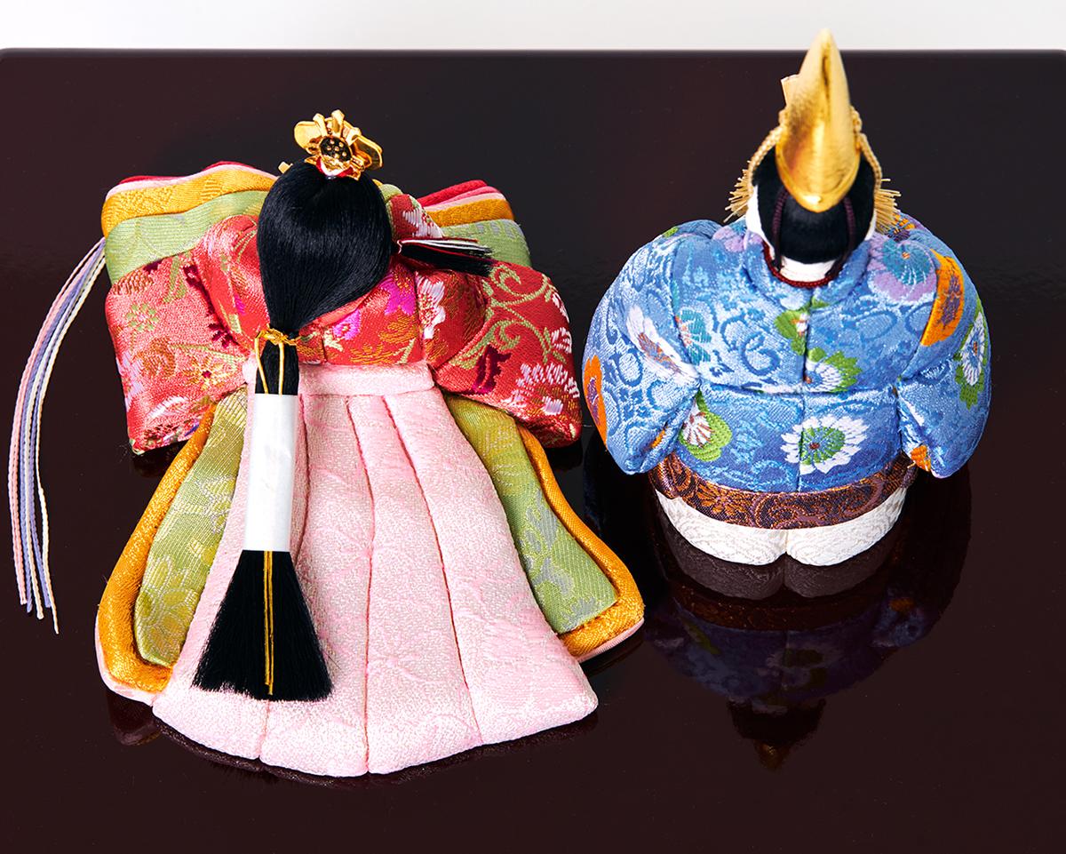 1.人形:江戸木目込(柿沼人形)|次世代に伝えていきたい最高峰の7つの日本伝統技術が結集|柿沼東光(経済産業大臣認定伝統工芸士)× 大沼 敦(工業デザイナー)によるモダンな雛人形