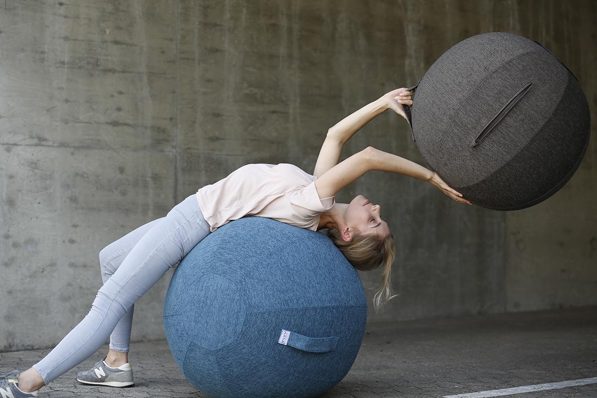インナーマッスルを鍛えるバランスボール