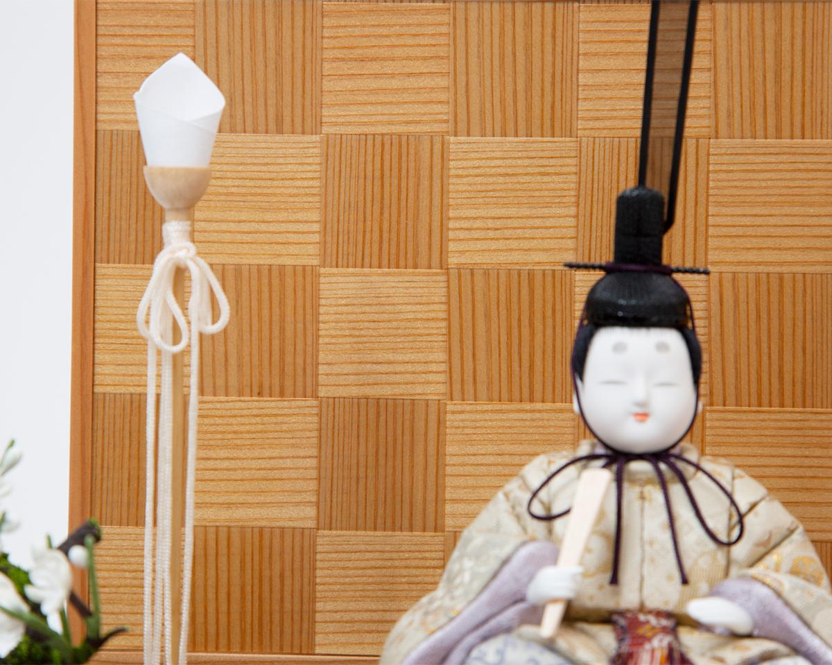 最高峰の日本伝統技術が結集。モダンな美しい日本の伝統工芸が結集した木目込みプレミアム雛人形|柿沼東光の宝想雛