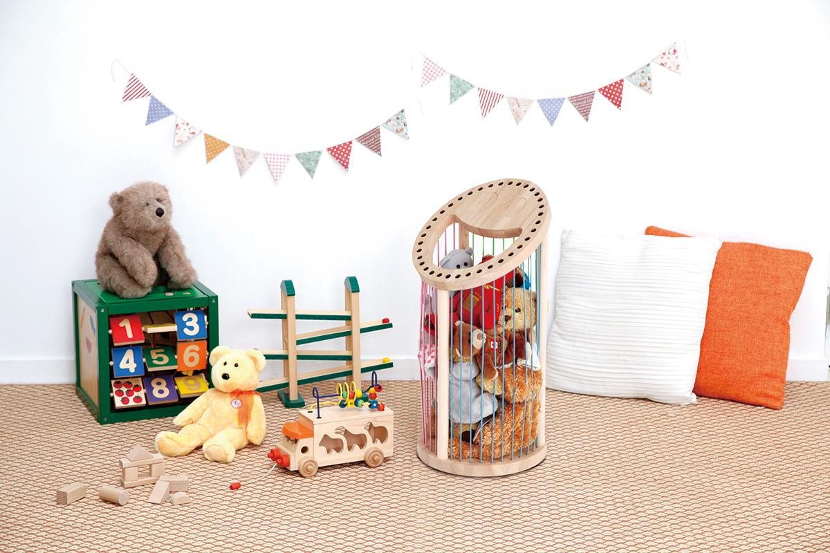 子供が片付け上手になれるおもちゃ収納