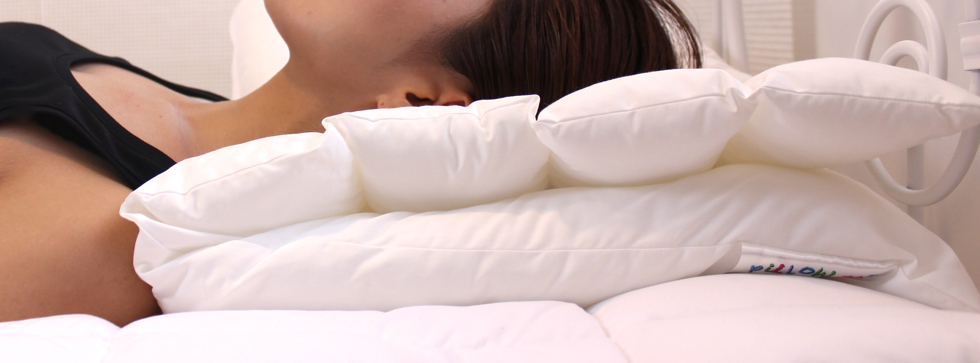 快適な睡眠へつながる理想のロールクッションのまくら(硬め)