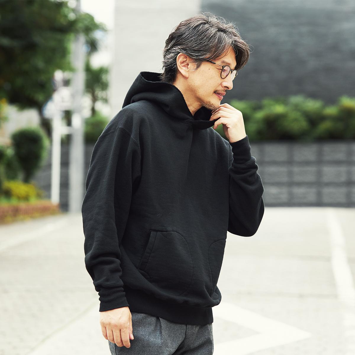 ファンにはたまらない一枚。現代の染色技術で生まれた新色「ブラック」をMade in Japanで。先行予約特典付きの「サイドラインパーカ/シングル」|A.G. Spalding & Bros