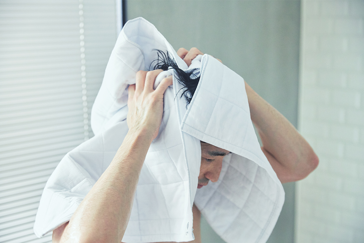 毛羽立ちにくく、ホコリ(細かい繊維くず)が出にくい。これからの理想のタオル|YARN HOME UKIHA(ヤーンホーム ウキハ)