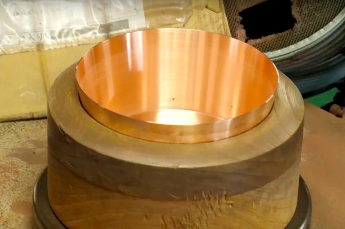 スタイリッシュで熱伝導率が良い銅のフライパン・卵焼き器・鍋|ameiro