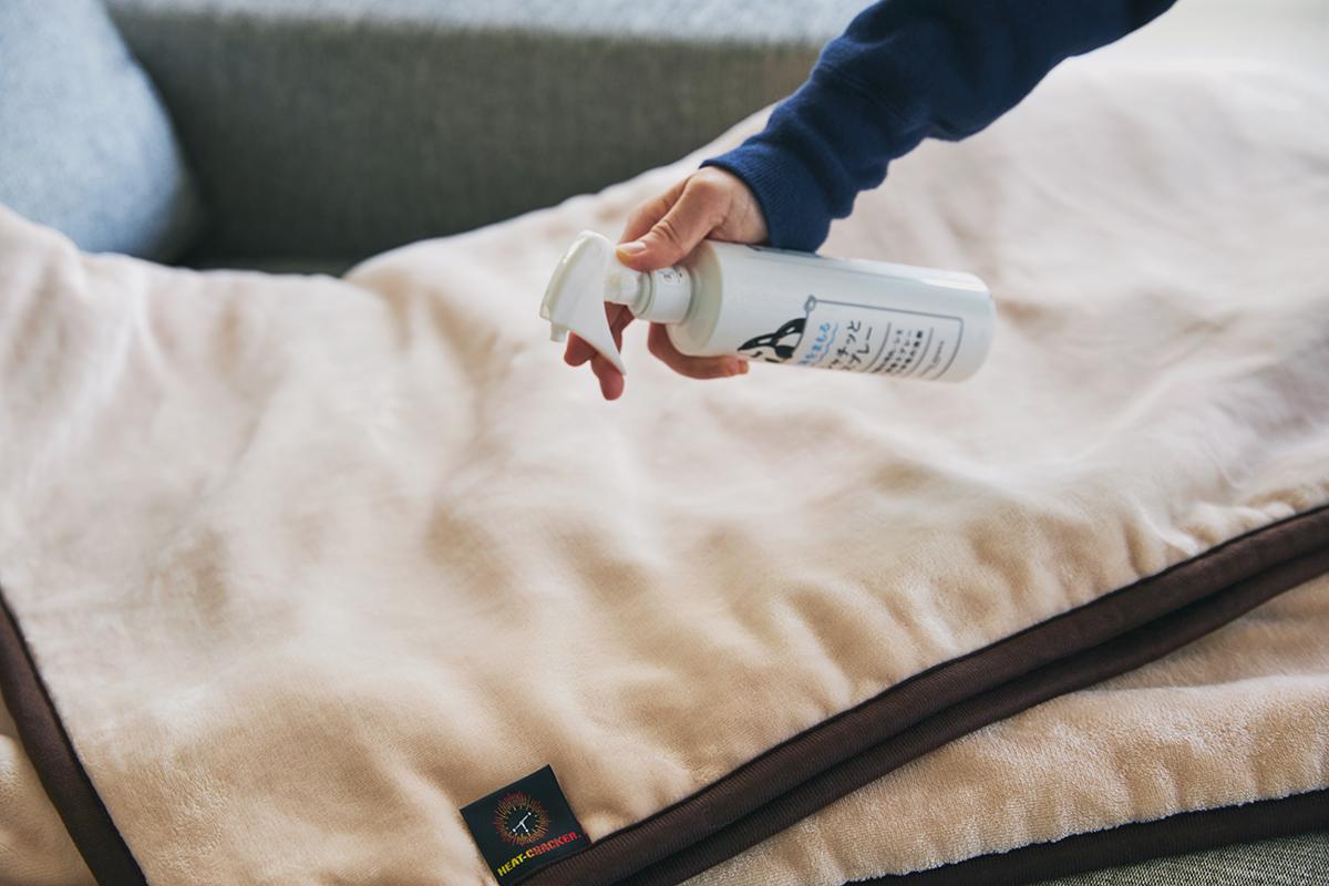 ダニ退治もでき、お家クリーニング、洗濯機での丸洗いができる。あなたの睡眠サイクルに合わせて、電源が自動オンオフ!洗濯機で丸洗いできる「電気毛布」|HEAT-CRACKER