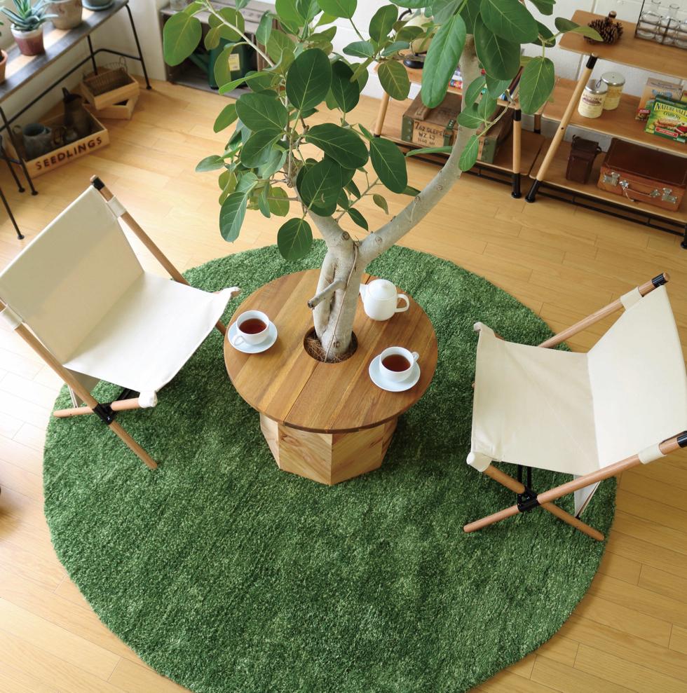 部屋の中でグリーンを楽しめるコーヒーテーブル『Hang Out(ハングアウト)』|【ガーデニング用品特集】心と身体を整える趣味の世界にようこそ。収納バスケットやホースなど、おしゃれグッズ5選