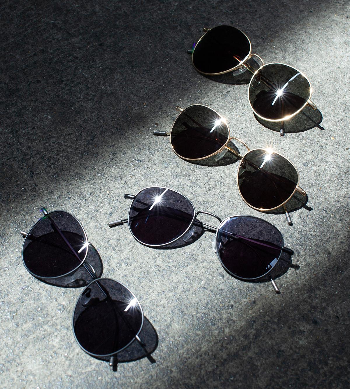 ファッションアイテムとして着用するだけではなく、瞳の保護のためにも役立てられる。風船で浮くほど軽い、フィット感抜群、踏んでも元に戻るβチタンフレームのサングラス|RAWROW R SUN