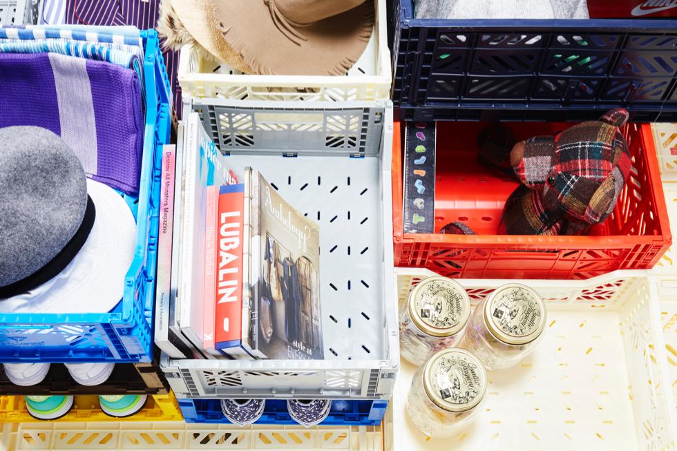 折りたためる収納ボックスでスマートに掃除・片付け・断捨離