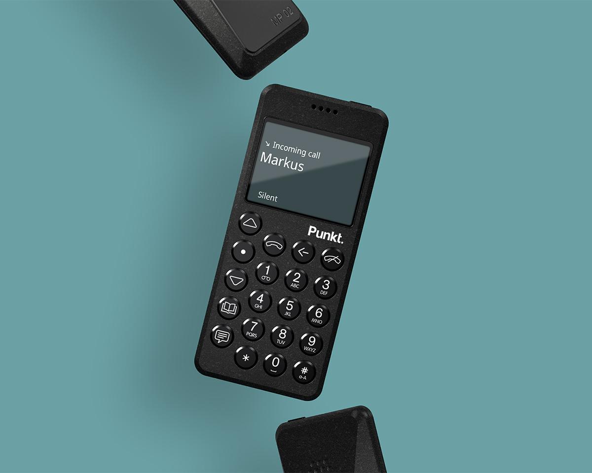 アプリからのお知らせバナーやプライベートのSNS通知が表示されることがない携帯電話・ミニマムフォン|Punkt.(プンクト)