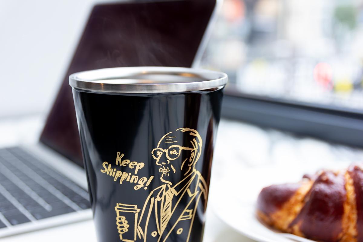 漆を施したthermo mug(サーモマグ)』が作る真空二重構造のステンレスボトル(タンブラー)