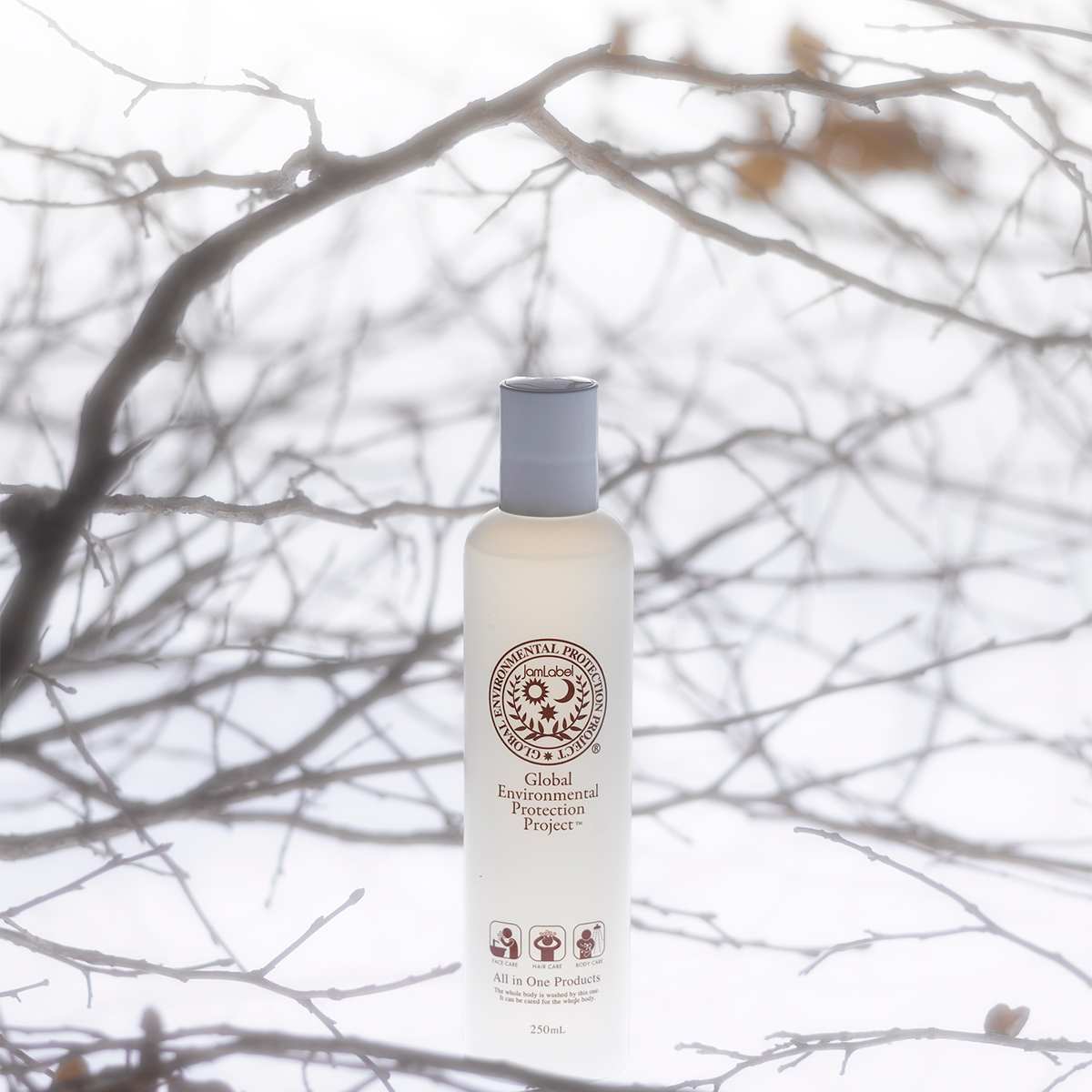 髪を洗って、そのまま顔も体も洗えてラクチンなシャンプー|Jam Label