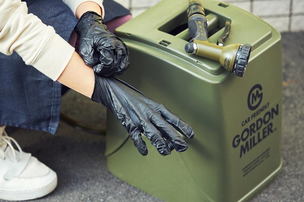 自動車整備士たちが、洗車やガレージの整理に使ってきた、プロ性能の道具。カー用品のオートバックスから生まれた『GORDON MILLER』(ゴードンミラー)