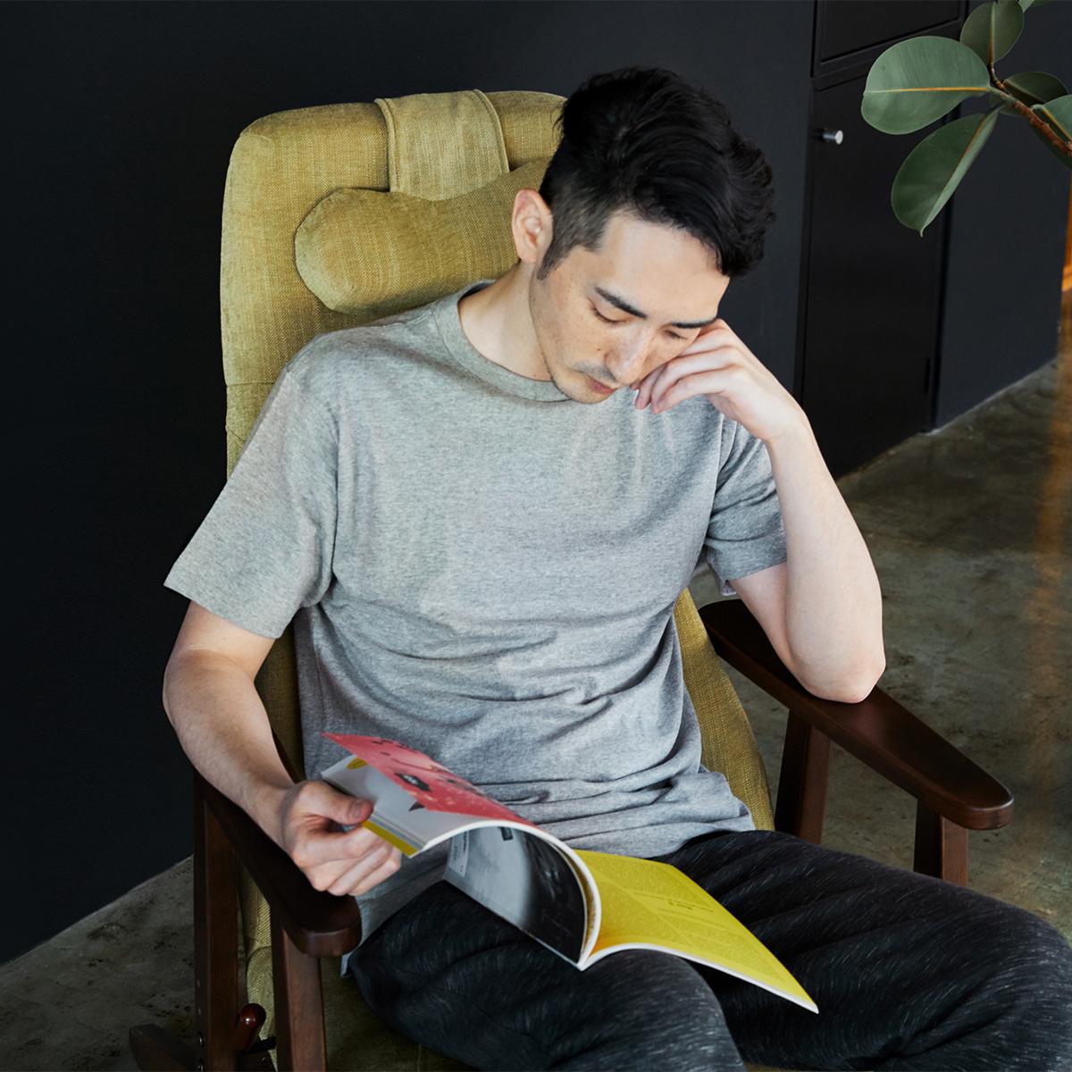 疲れにくいから仕事に趣味に集中できる。体にいい姿勢でリラックス!首も腰も好きな角度に調節できる寝椅子(リクライニングチェア)|P!nto