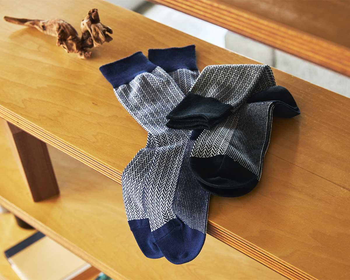 足が着地するたびに、ちょうどいいクッション感でフワッとやわらかい心地|消臭効果、サラサラ効果が続く、美濃和紙を使った和紙靴下・和紙ソックス