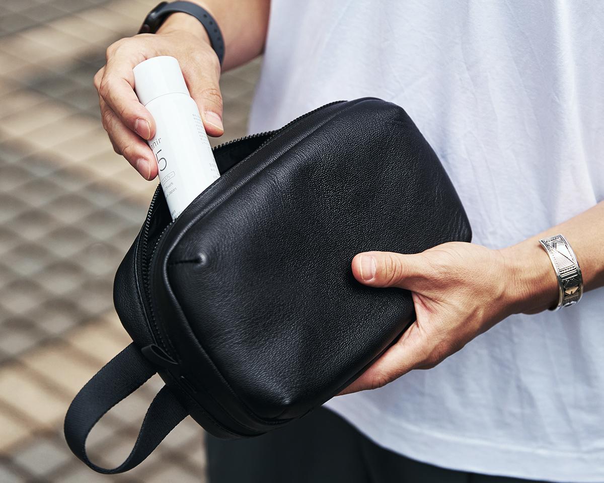 機能性抜群のポケットを装備 防水レザー、超軽量、直感ポケット付きの日本製レザーバッグ PCバッグ・トートバッグ・リュック・バックパック FARO(ファーロ)