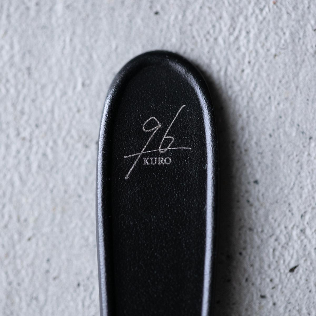 時代が変化しても淘汰されない価値と、新しい発想を掛け合わせた『96』のテーブルウェア。毎日気軽に使える落としても割れない、黒染めステンレスの食器(フォーク・スプーン)|KURO(96)クロ