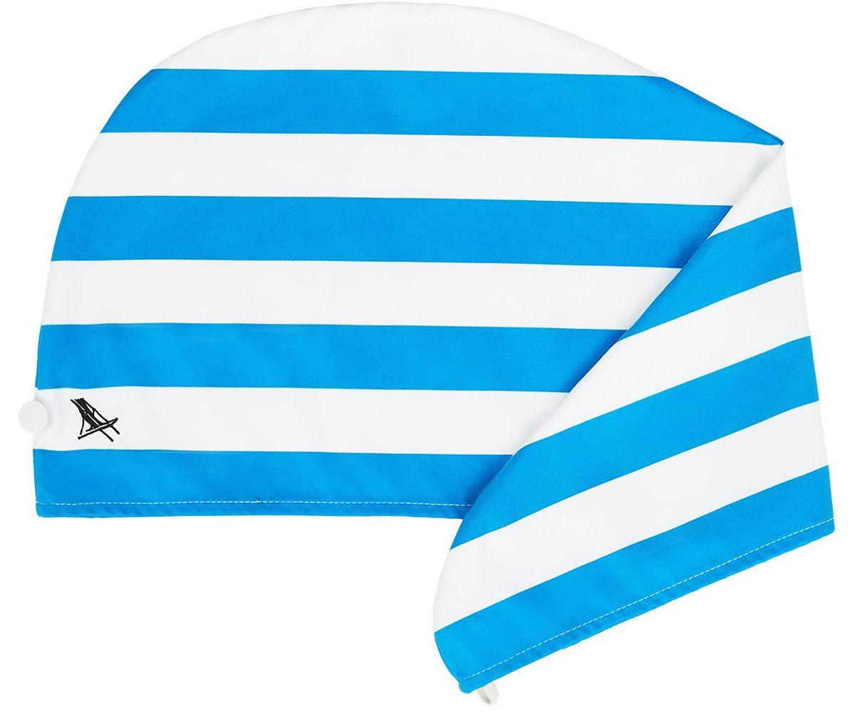 シドニー・ボンダイビーチの青(Bondi Blue)|水をサッと吸収、髪が素早く乾くマイクロファイバー製のカラフルタオル(ヘアラップ)|DOCK & BAY