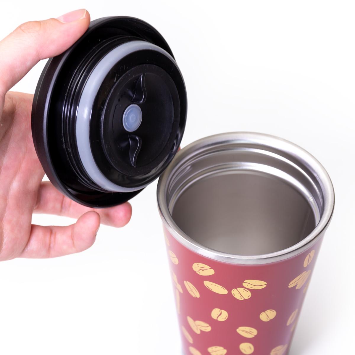 保温・保冷機能をしっかりキープする漆の真空二重構造のステンレスボトル(タンブラー)