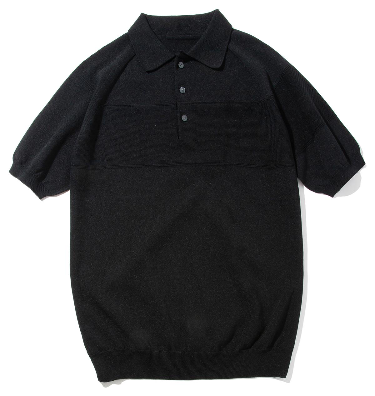 胸周りが透けにくいので、1枚で着ても気にならない。汗でベタつかない、匂わない、綿より軽い!三拍子揃った「ニットポロシャツ」|伊予和紙ポロシャツ