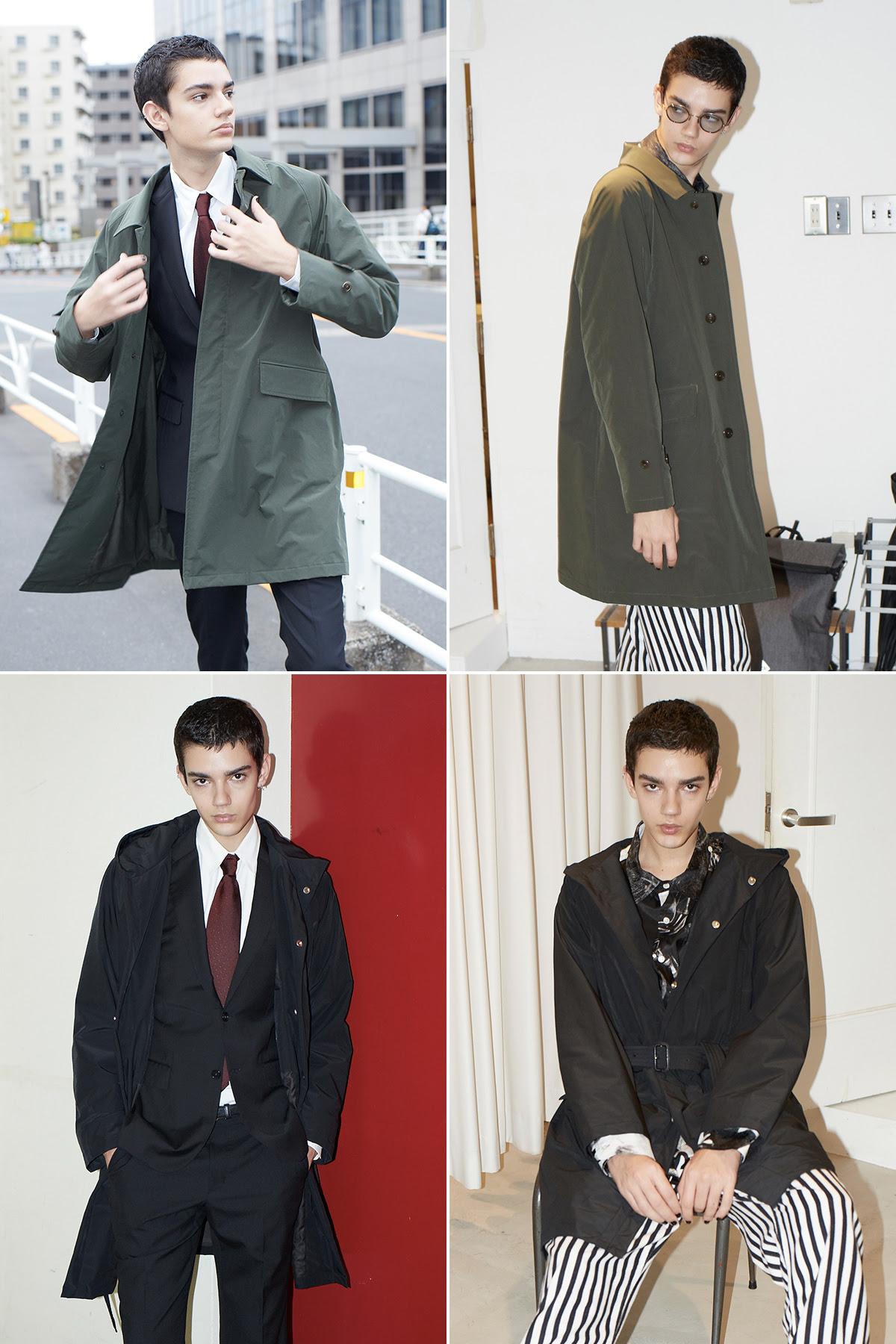スマートな次世代コートスタイルは、コート1枚でスマホで温度設定を変える時代。高機能なコート|SANYOCOAT サンヨーコート(HEATIER)