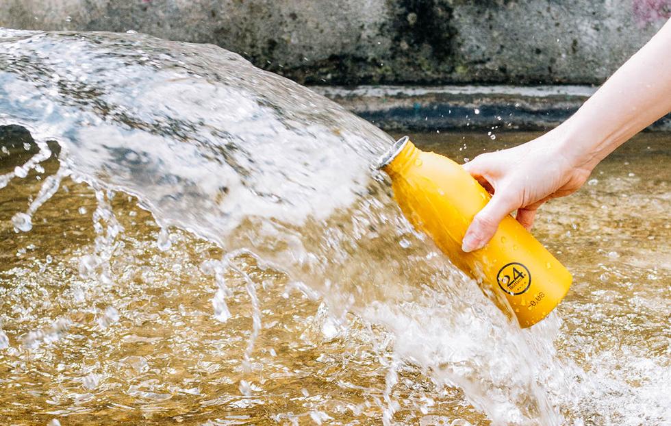 ペットボトルの過剰利用を防止し、マイボトルで地球資源の無駄遣いを防ぐコンセプトのURBAN BOTTLE