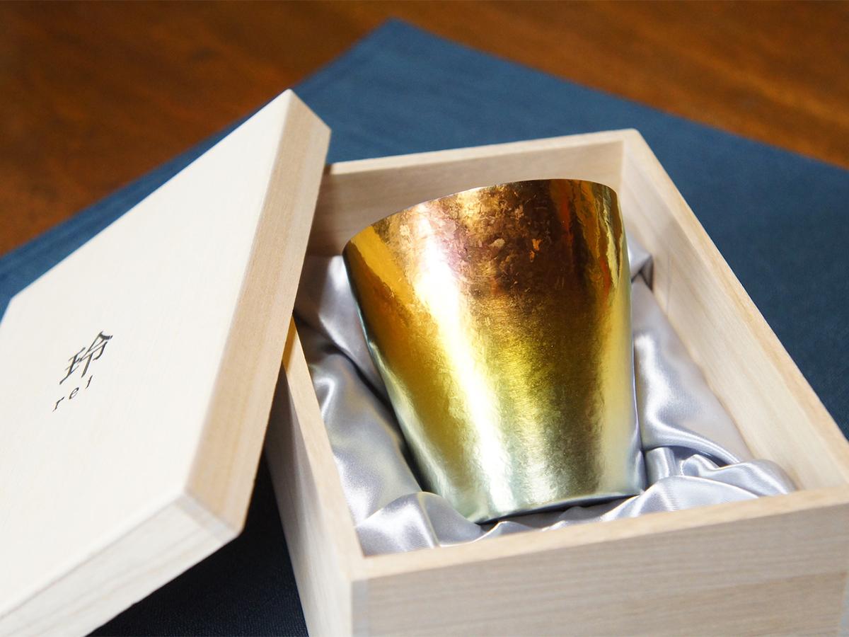 ギフトに喜ばれる。プレゼントにぴったり。長く愛用できる記念品としてもおすすめな「純チタンタンブラー」(250cc) | 燕三条