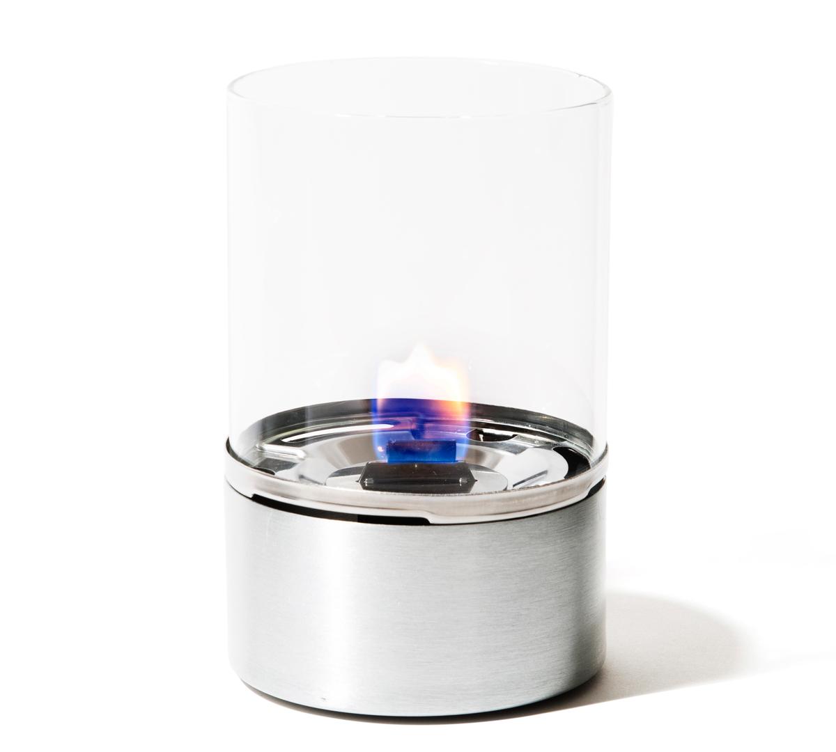 ライターと専用燃料「バイオユニフューエル」だけでシンプルで手軽に使える設計の「オイルランプ」|TENDER FLAME(テンダーフレーム)