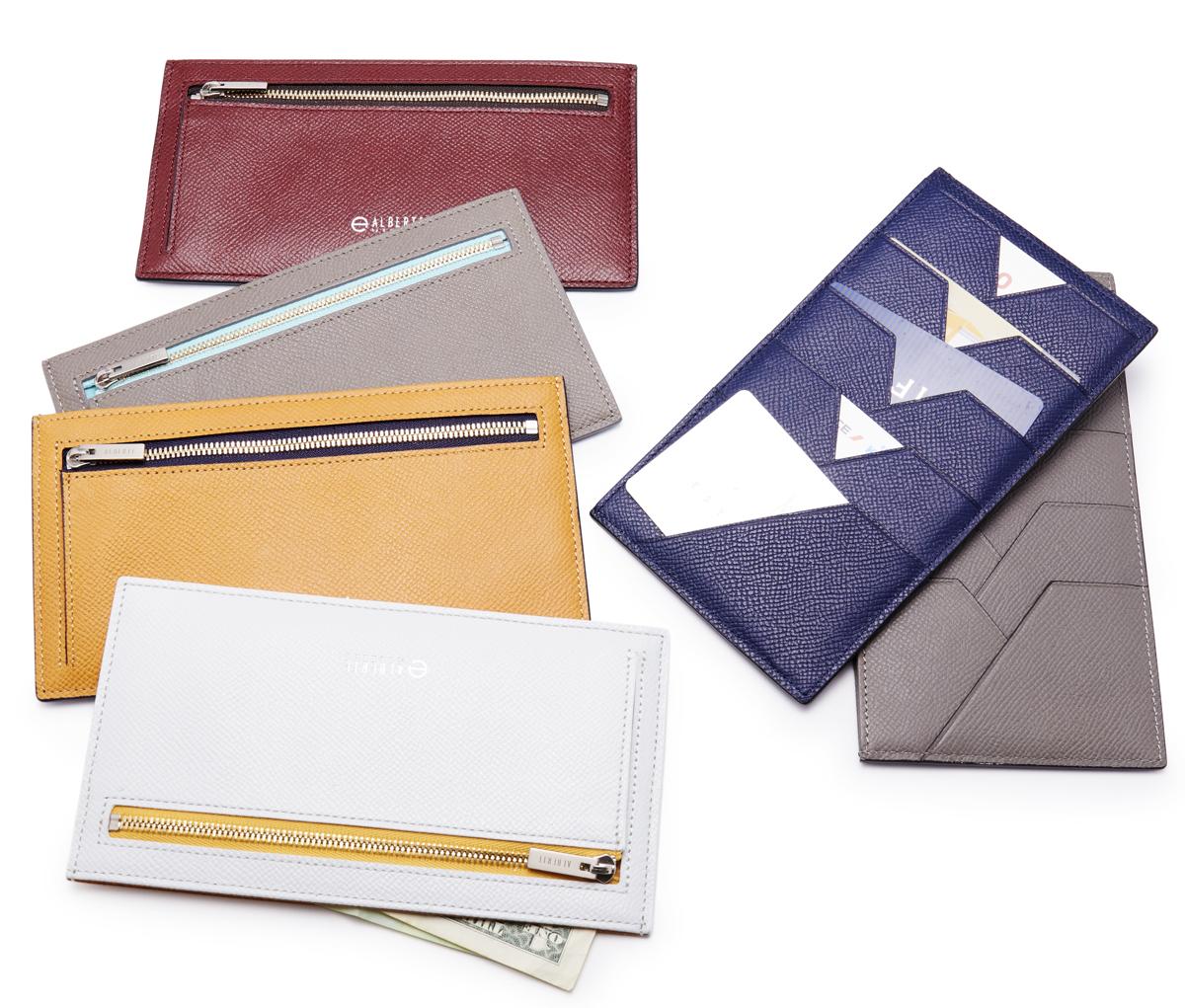 無理なくミニマムを極めた、「薄い財布」の傑作(長財布)|ALBERTE