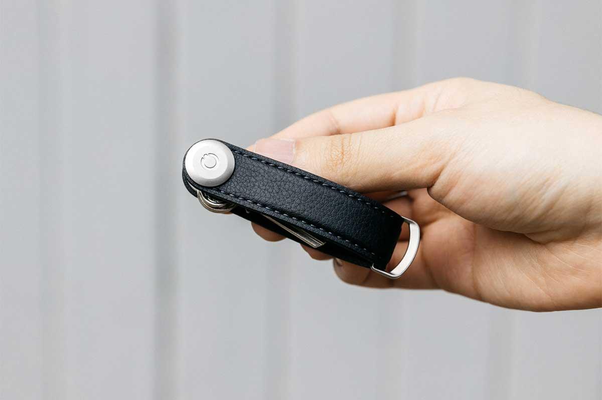 機能的で美しく、上質な手触り。サボテンから生まれたエコレザーのキーホルダー(キーケース)|ORBITKEY(オービットキー)