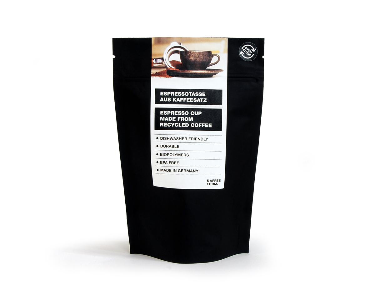 コーヒー豆 オシャレ KAFFEE FORM