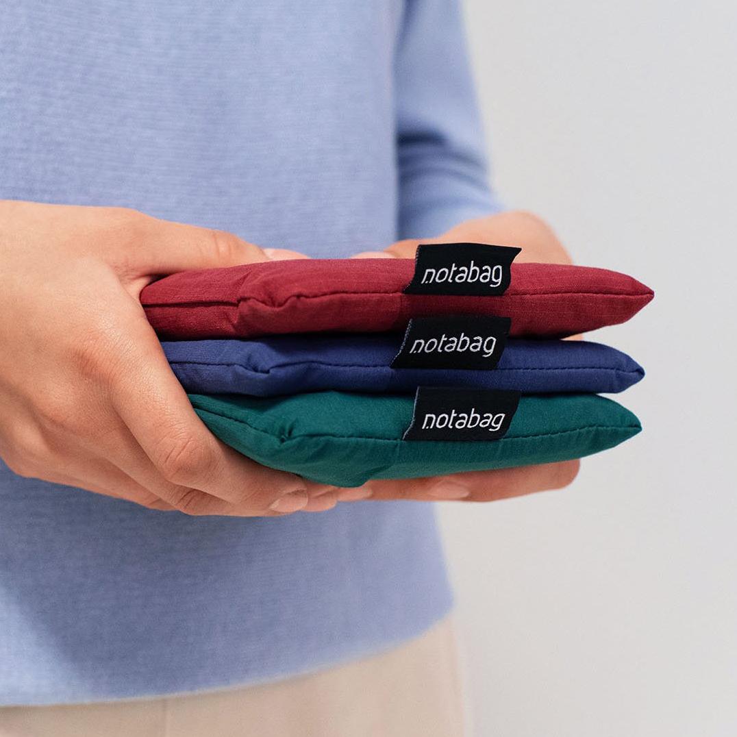 収納ケースになる「ポケット」が重宝。一瞬でリュックになる「変身エコバッグ」|notabag(ノット ア バッグ)