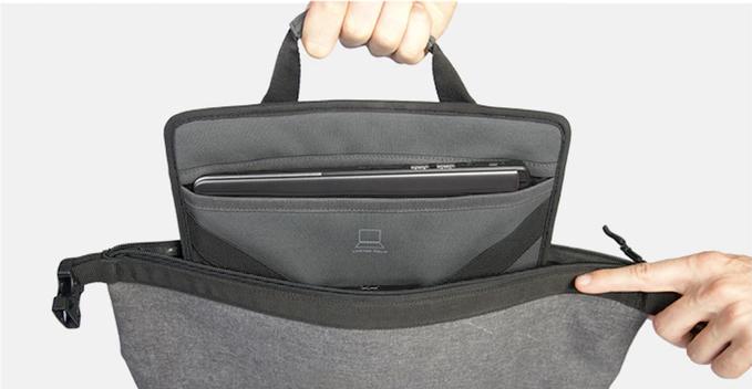 テックスリーブ・完全防水・盗難抑止機能・隠しポケットを搭載。10の機能を持ち合わせたバックパック | Code 10