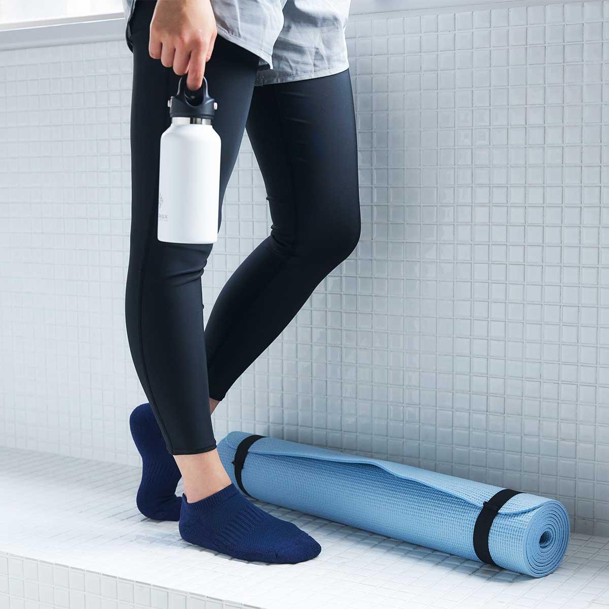 消臭性もあるから、汗のニオイが気になりにくい|消臭効果、サラサラ効果が続く、美濃和紙を使った和紙靴下・和紙ソックス