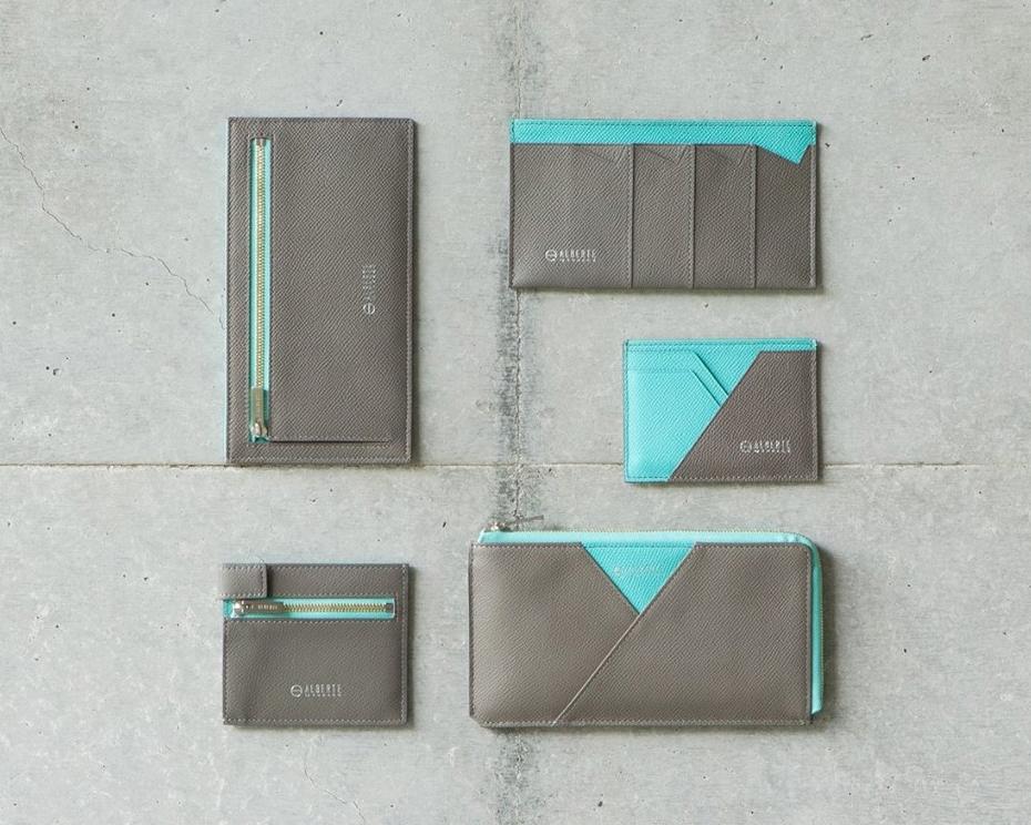 日本の職人技が実現した、美しい薄さ。無理なくミニマムを極めた、「薄い財布」の傑作(長財布、二つ折り財布、パスケース、カードホルダー) ALBERTE