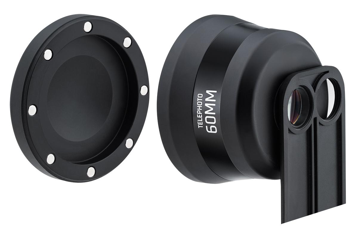 付け外しも楽々。6種類のレンズを装備したiPhoneケース(望遠レンズ) | ShiftCam 2.0