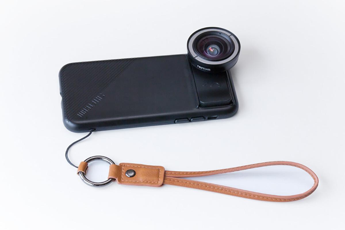 スリムな形状なのに落下しずらいレンズ一体型のiPhoneケース、6種類のレンズ・バッグ付きのコンプリートセット | ShiftCam 2.0