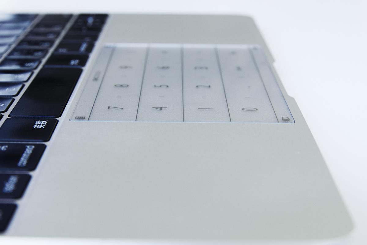 ノートパソコンの数字入力がサクサク!指1本でいつものページにもすぐ飛べる「トラックパッドシート(MacBook/Surface対応)」|Nums