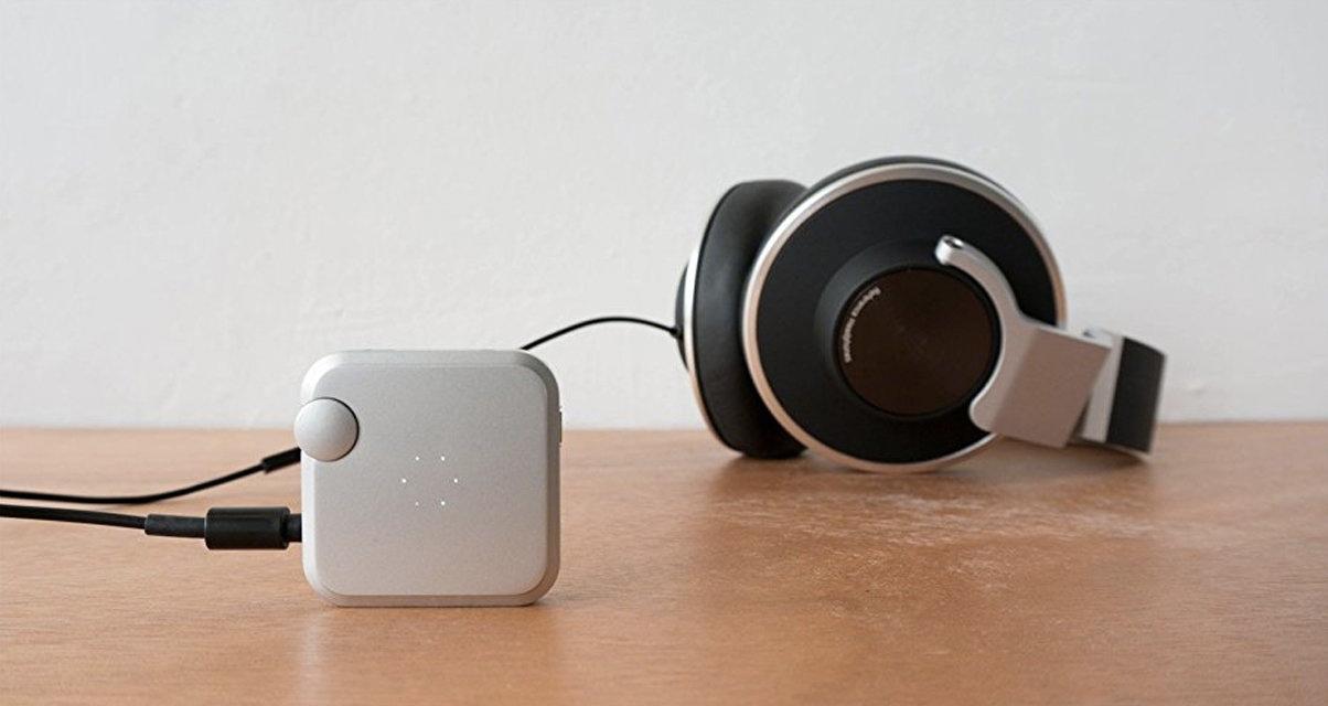 オーダーメイドの音を仕上げる、聴覚テストで音質を最適化するポータブルアンプ(ポタアン) AUMEO AUDIO