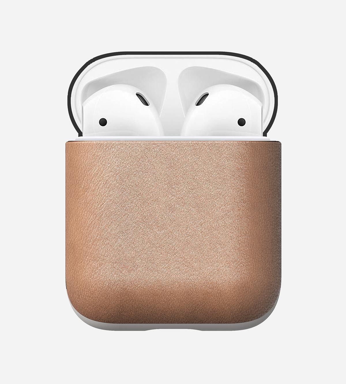 とても丈夫で経年劣化も少なく、長く使い込むことができるヌメ革のAirPodsケース・Apple Watchバンド|NOMAD
