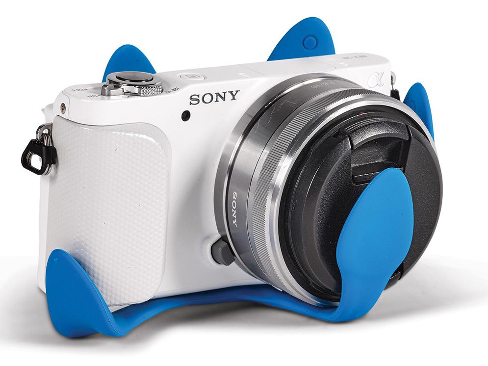 カメラを保護し保管することもできる|柔軟な5本足でスマホやカメラをどこにでも固定!薄くて、軽くて、コンパクトなスマホ&カメラ用スタンド| miggo