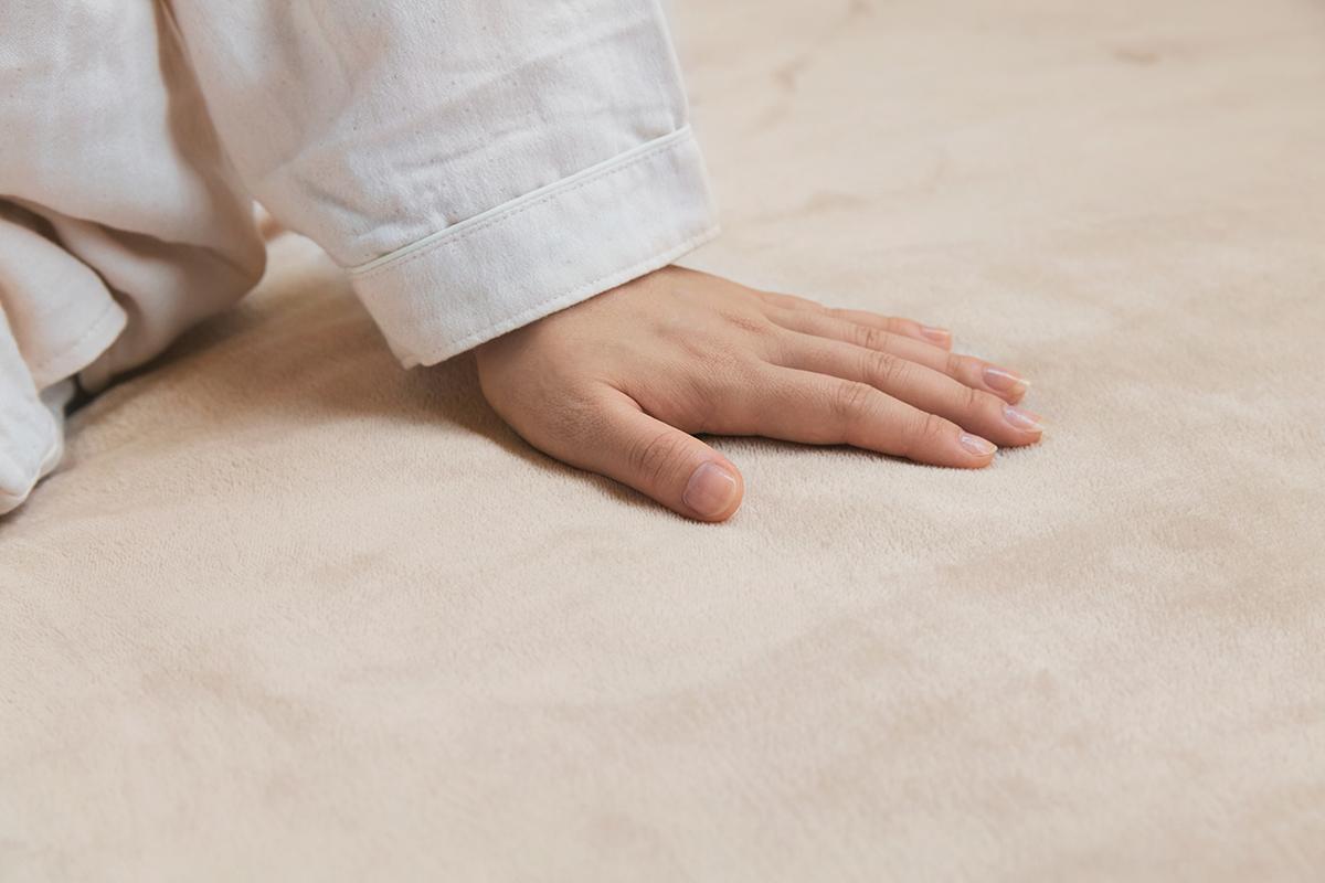 ソファでのくつぎタイムや昼寝にも重宝するシングルサイズ。あなたの睡眠サイクルに合わせて、電源が自動オンオフ!洗濯機で丸洗いできる「電気毛布」|HEAT-CRACKER