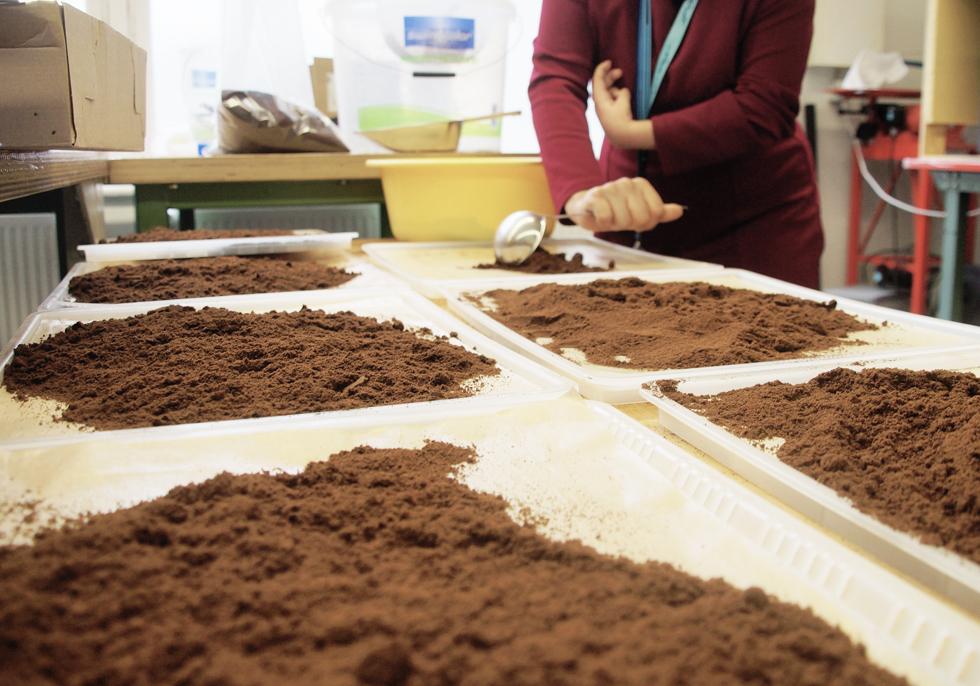 コーヒー カップ 豆かす KAFFEE FORM