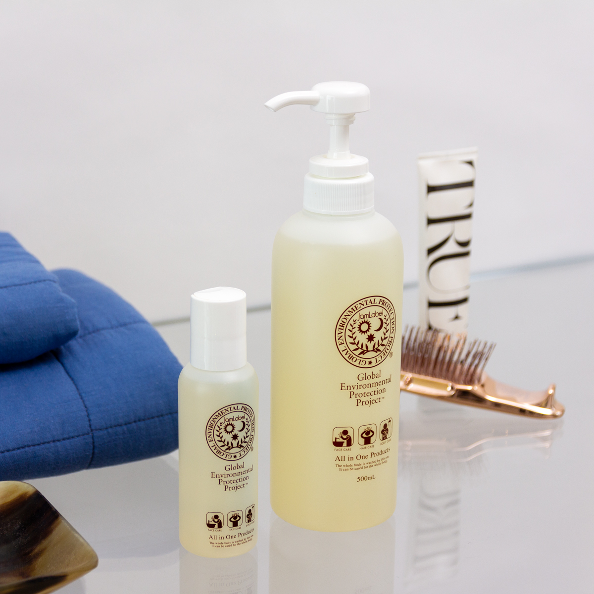 旅先やジムでも重宝。これ1本で全身洗えて、肌も髪もしっとり潤うシャンプー|Jam Label