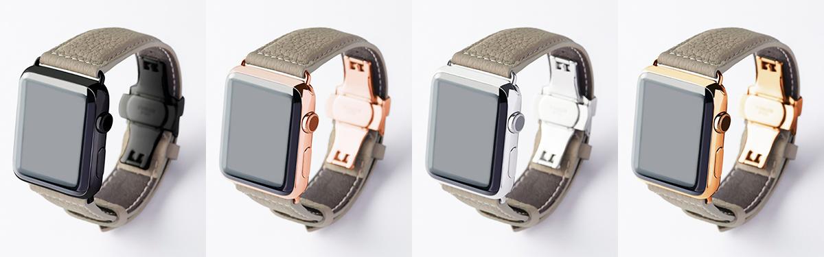 ボヘミアングレージュ|複数買いしたい、豊富なラインナップ。アクティブな腕元を洗練する、ワンタッチ着脱の「Apple Watchバンド」|EPONAS(エポナス)