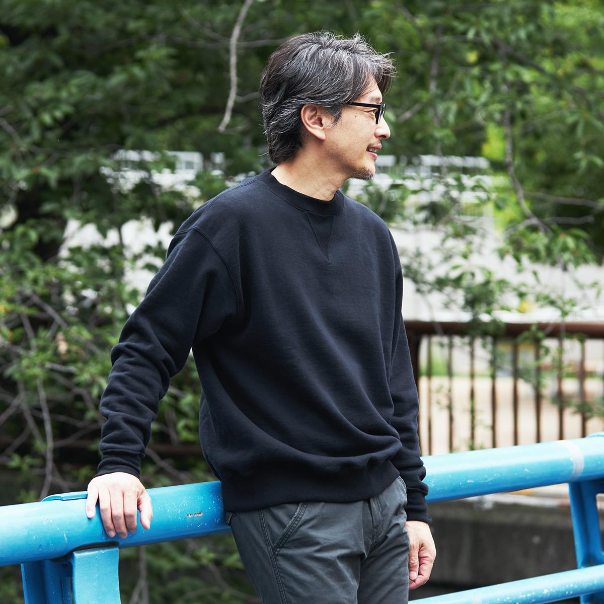 洗濯しても色褪せしにくいので、末永く楽しめる一着に。スポルディング社の名作から、現存していない「ブラック」をMade in Japanで「トレーニングシャツ」|A.G. Spalding & Bros