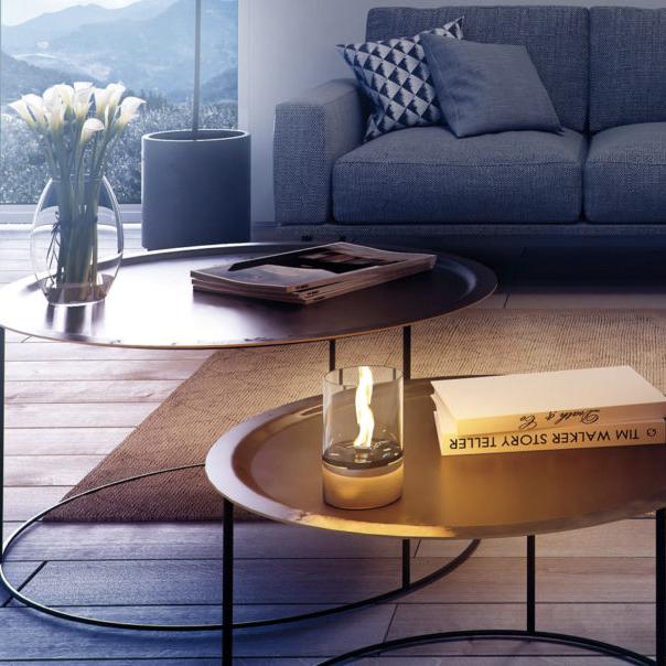 キャンドルや卓上ランプとはひと味違う、小さな焚き火を見つめているような至極の和みの「オイルランプ」|TENDER FLAME(テンダーフレーム)