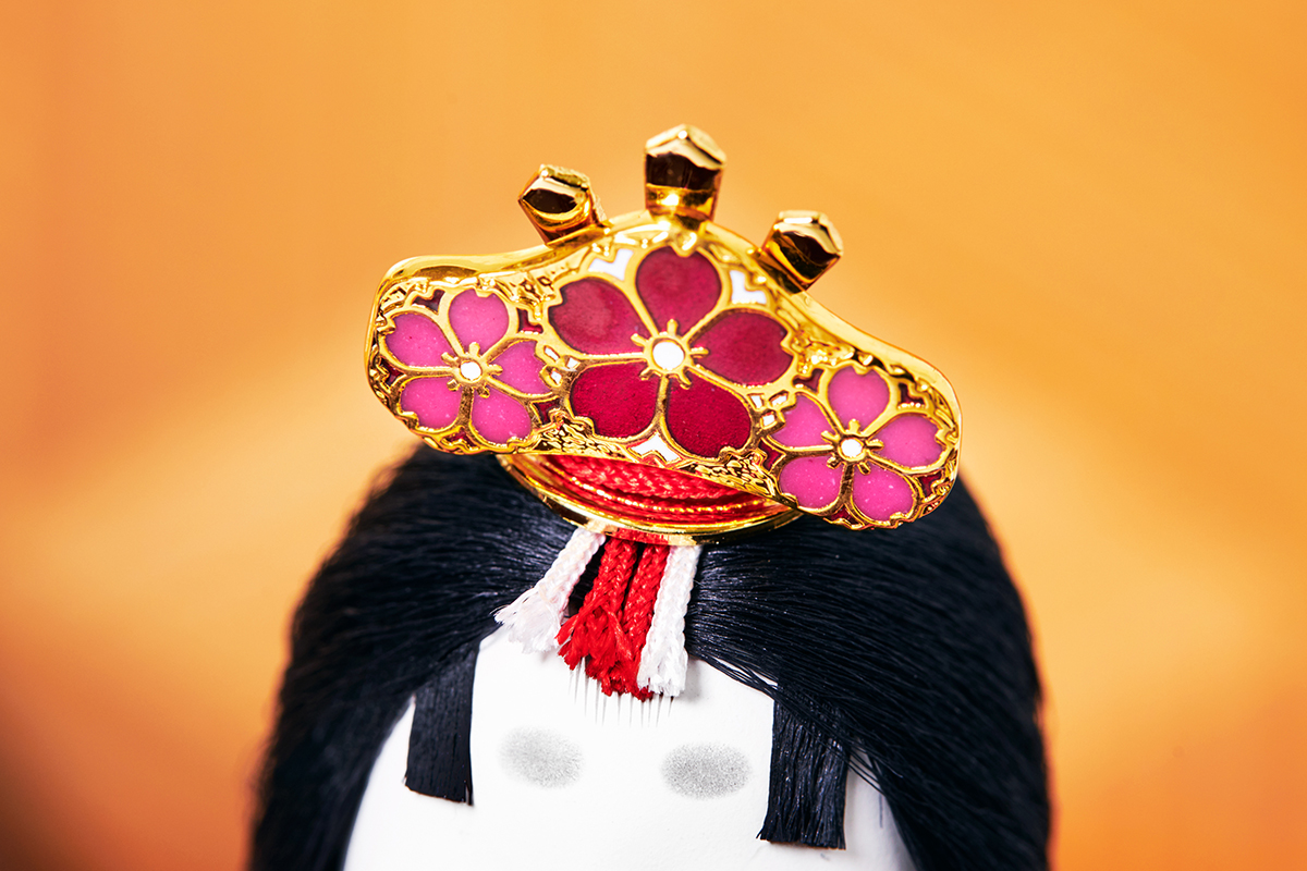 6.桜の玉串:東京七宝|次世代に伝えていきたい最高峰の7つの日本伝統技術が結集|柿沼東光(経済産業大臣認定伝統工芸士)× 大沼 敦(工業デザイナー)によるモダンな雛人形