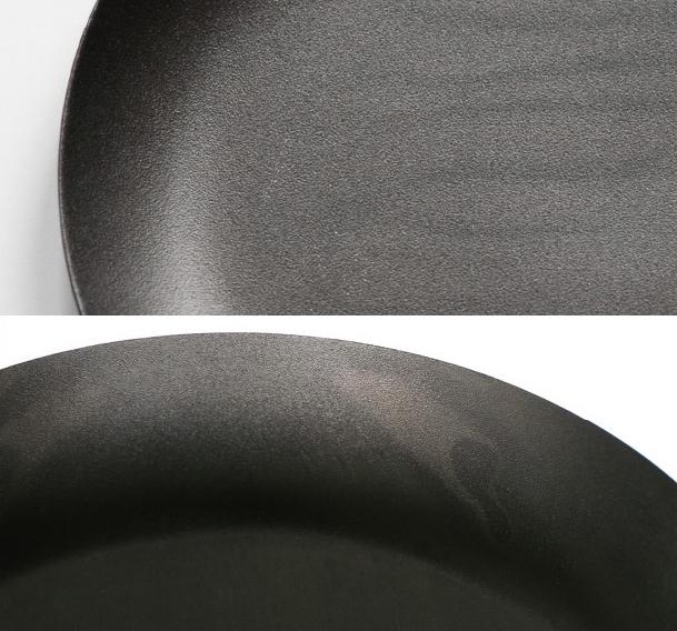 長年の経験と企業努力がなければ成し得ない技術。人体に無害で安全な錆びにくく美しい「黒染め」を施したスタイリッシュなステンレスの食器(お皿)|KURO(96)クロ
