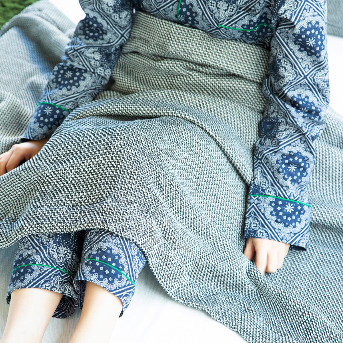 ズレない、落ちない安心の大判サイズ。「熟睡」を追求した凹凸状のハニカム織りのハニカムケット(ワッフルケット)